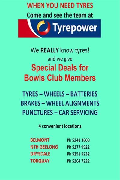 Lewis Tyrepower Belmont        Drysdale Tyrepower     GEELONG TYREPOWER
